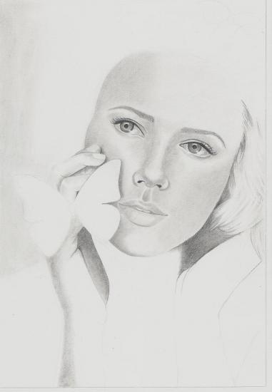 Scarlett Johansson by nihrida